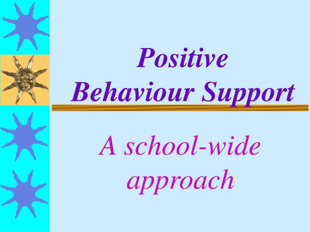 positive behaviour support l.