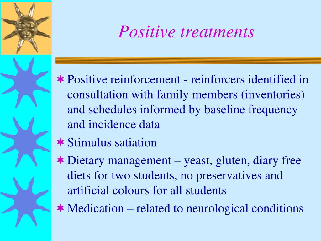 Positive treatments