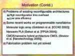 motivation contd