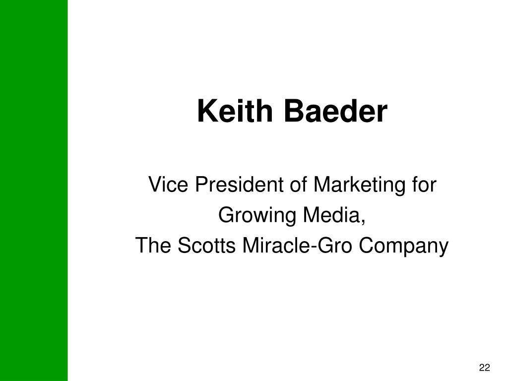 Keith Baeder