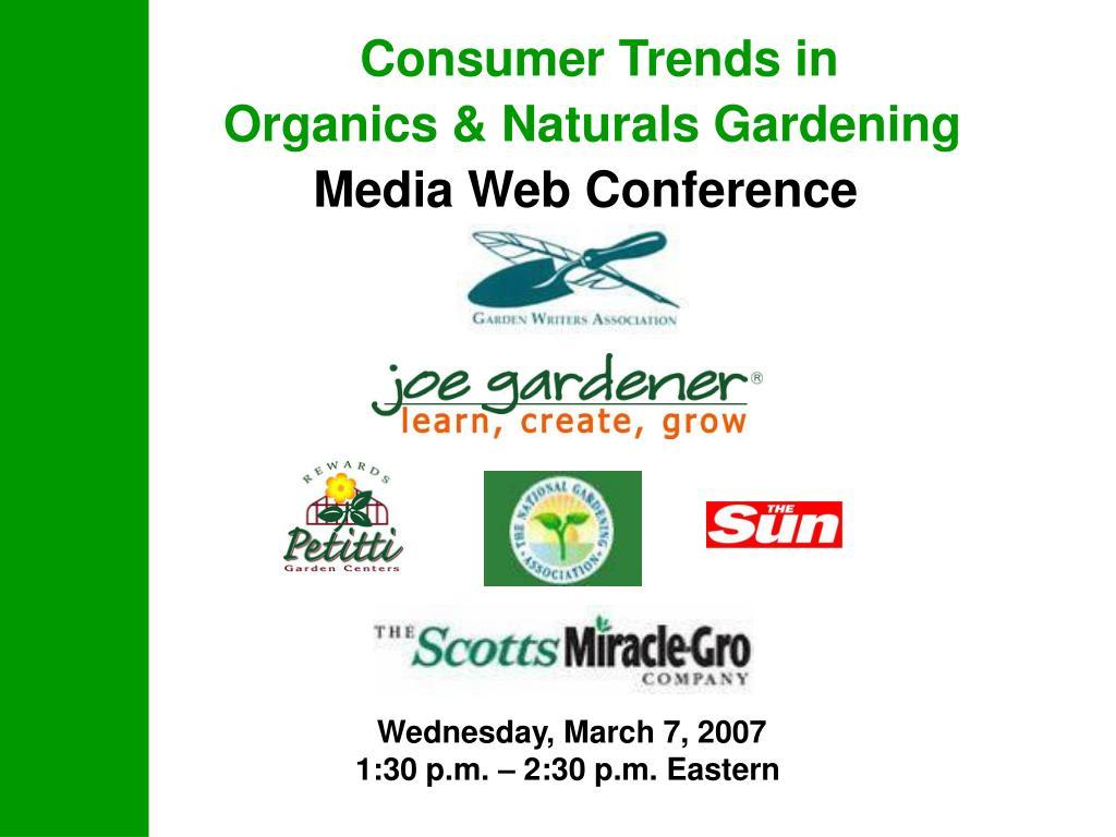 Consumer Trends in