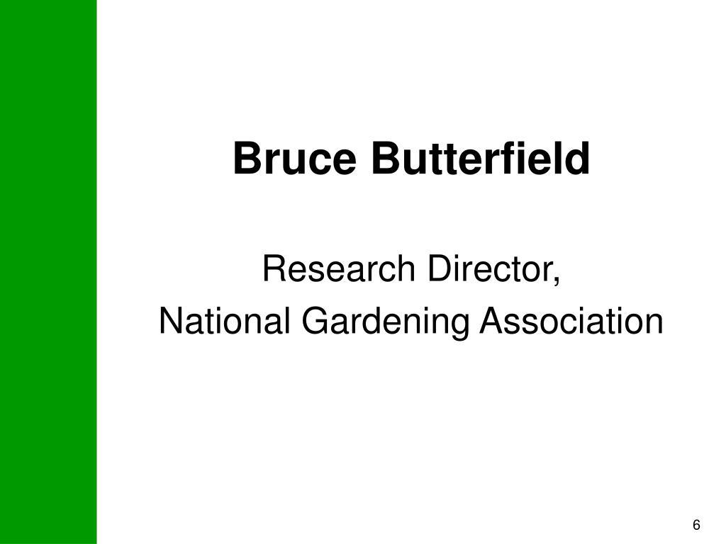 Bruce Butterfield