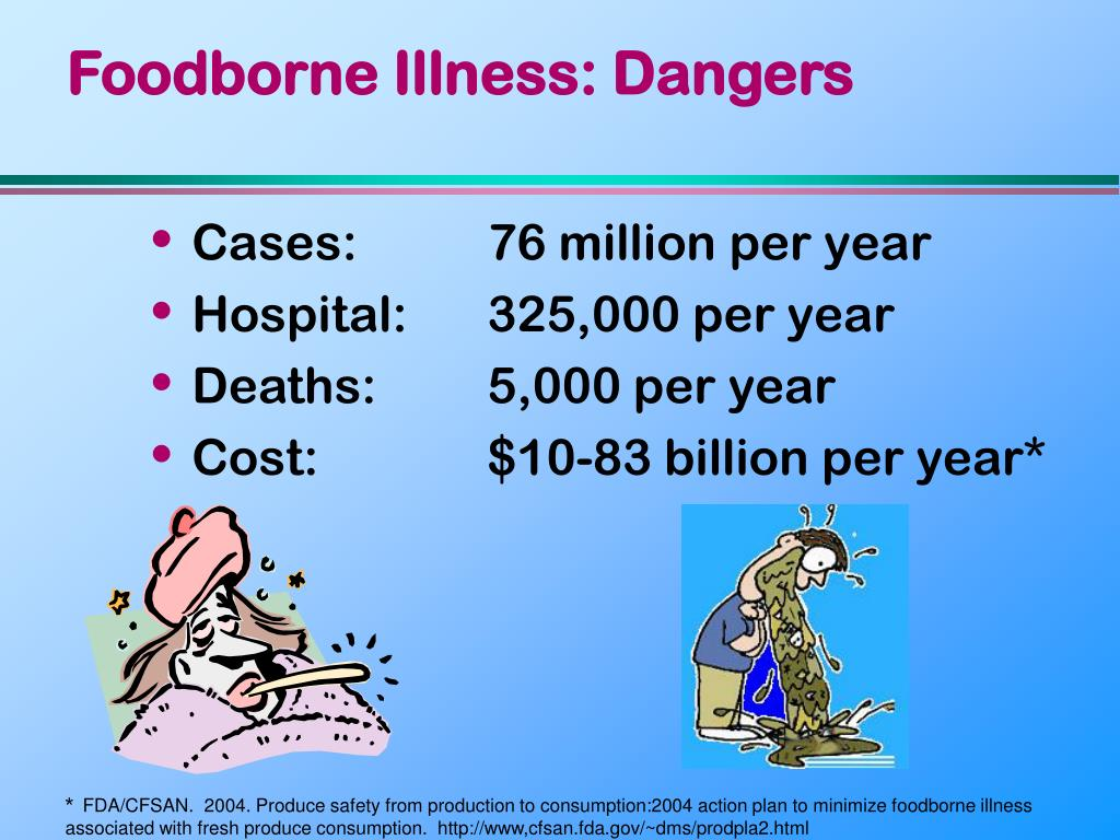 Foodborne Illness: Dangers