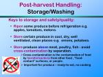post harvest handling storage washing71