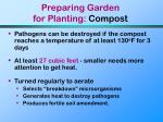 preparing garden for planting compost55