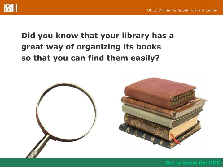 Did you know that your library has a