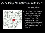 accessing mainstream resources