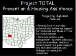project total prevention housing assistance