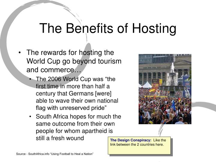 The Benefits of Hosting