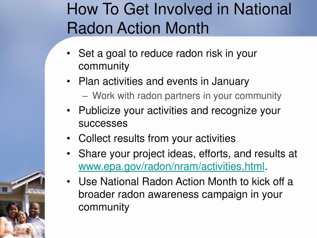 How To Get Involved in National Radon Action Month
