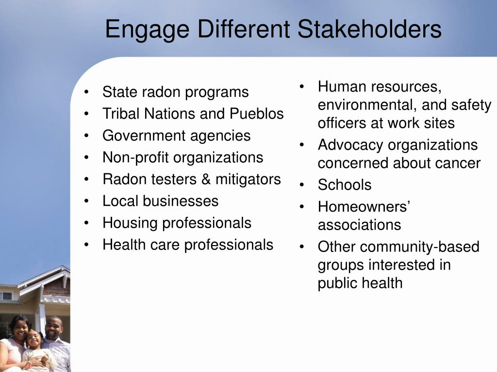 Engage Different Stakeholders