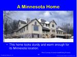 a minnesota home