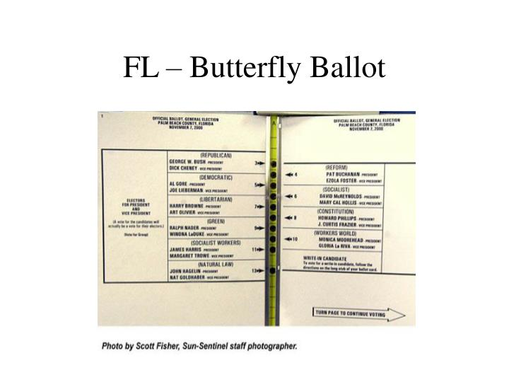 Fl butterfly ballot
