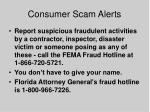 consumer scam alerts58