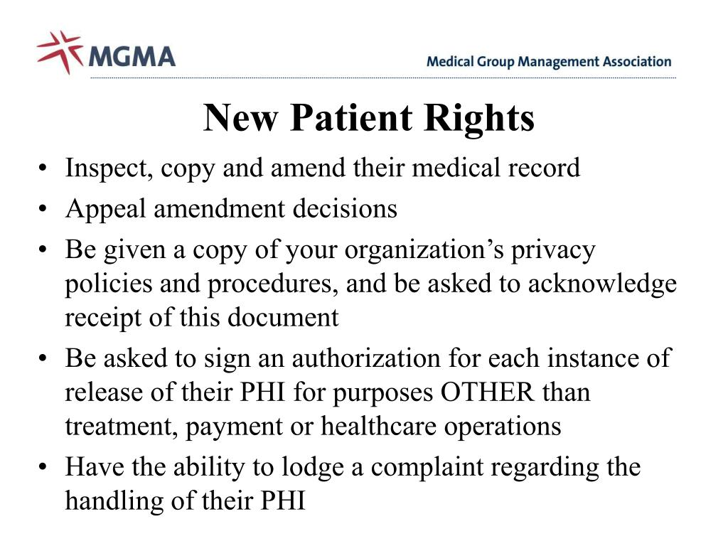 New Patient Rights