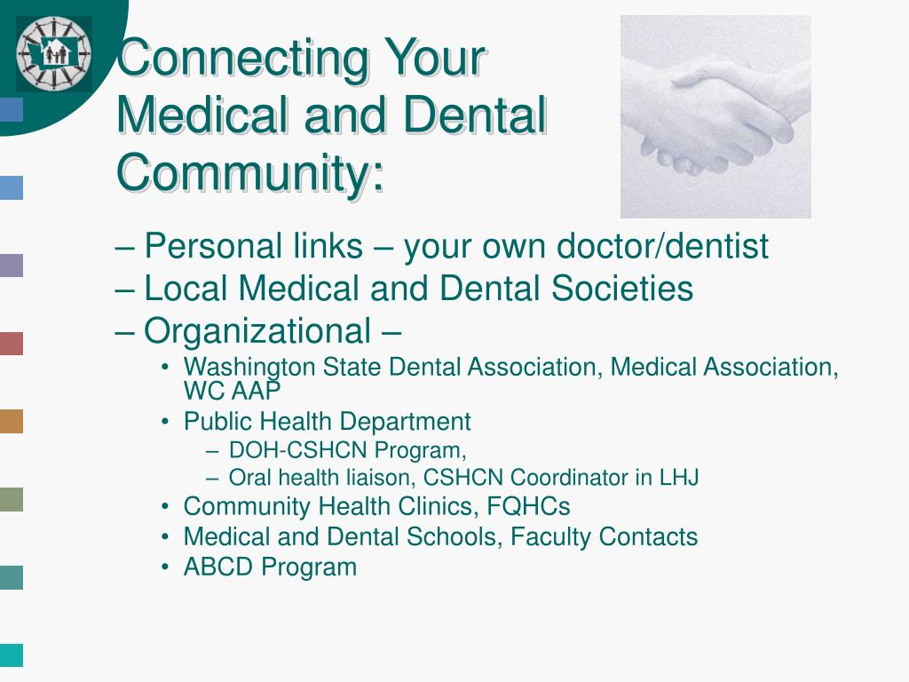 Connecting Your Medical and Dental Community: