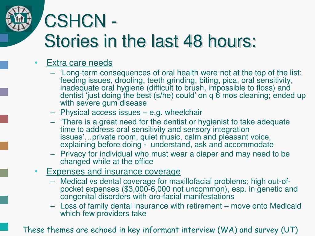 CSHCN -