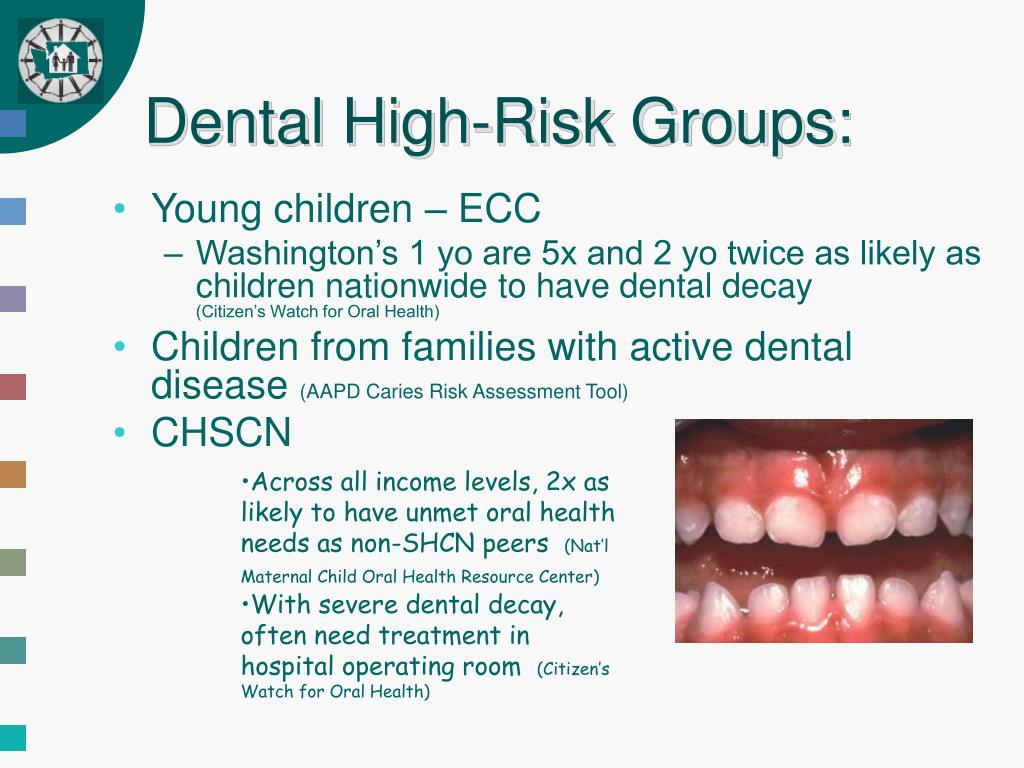 Dental High-Risk Groups: