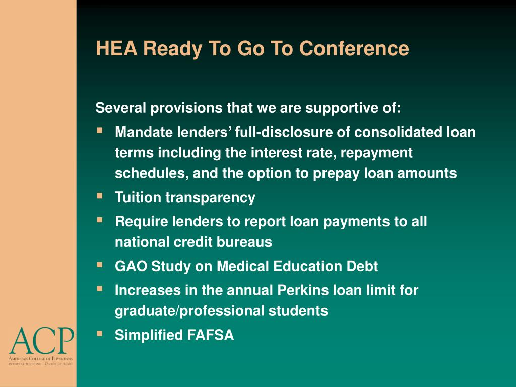 HEA Ready To Go To Conference