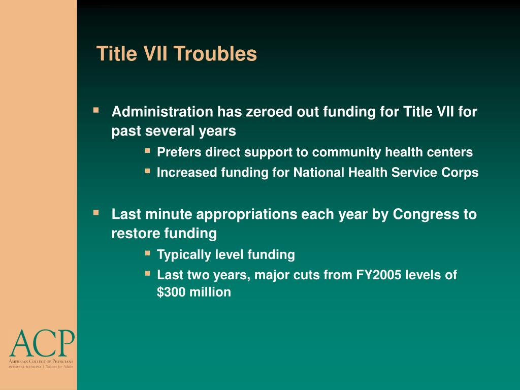 Title VII Troubles