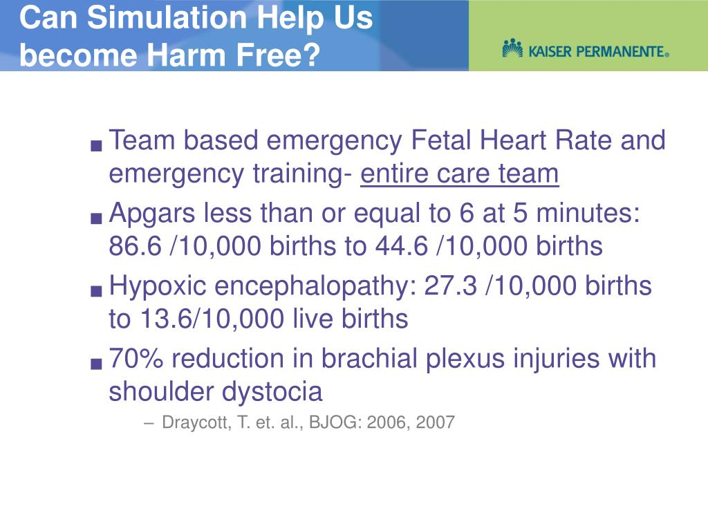 Can Simulation Help Us