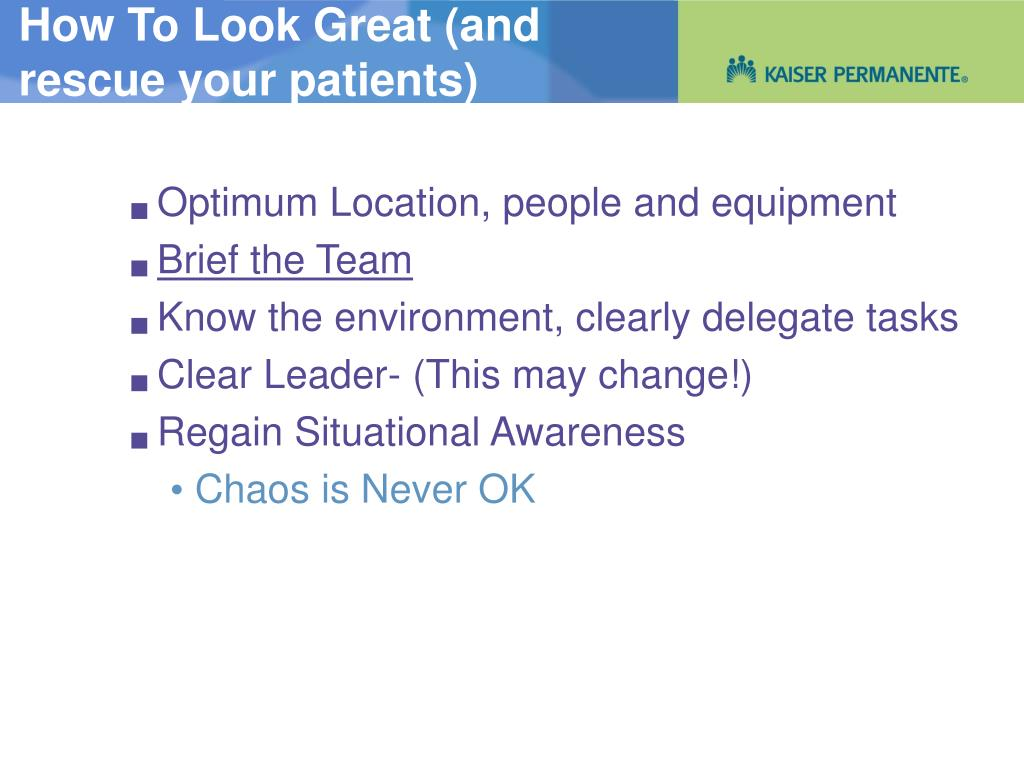 Optimum Location, people and equipment