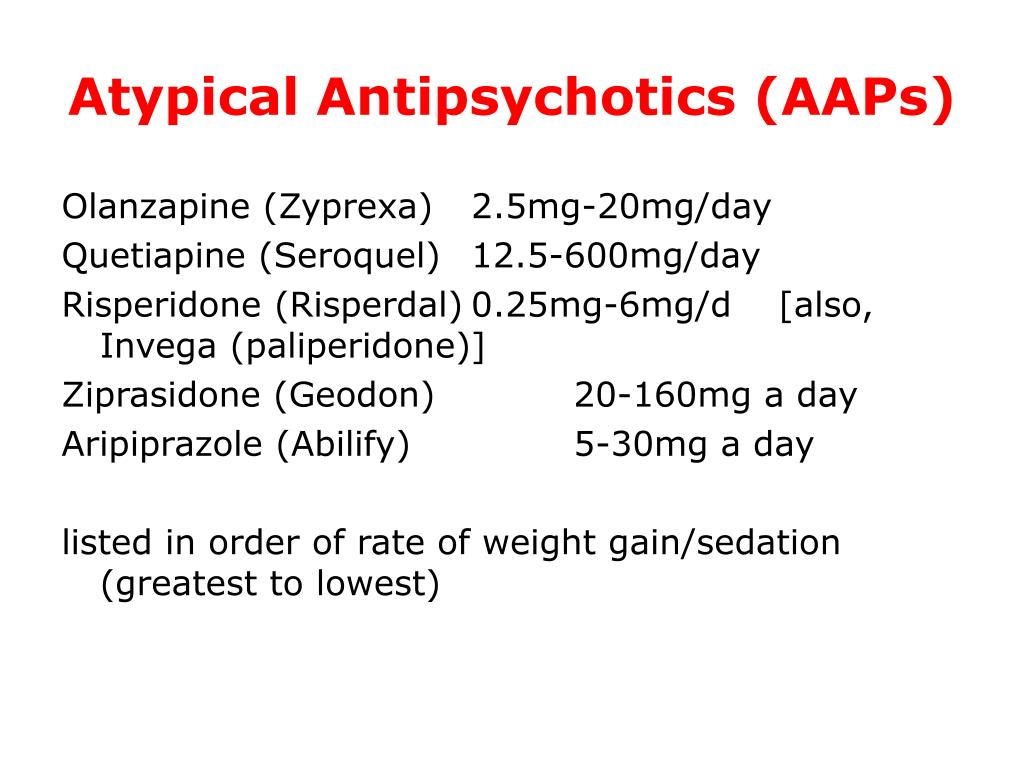 Atypical Antipsychotics (AAPs)