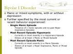 bipolar i disorder