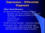 depression differential diagnosis
