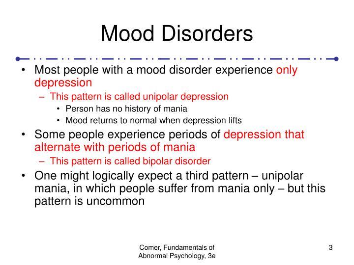 Mood disorders3