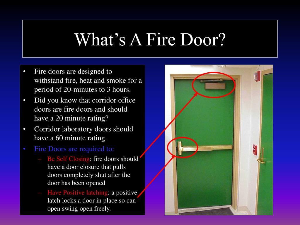 What's A Fire Door?