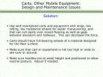 carts other mobile equipment design and maintenance issues23