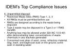 idem s top compliance issues16
