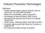 pollution prevention technologies20