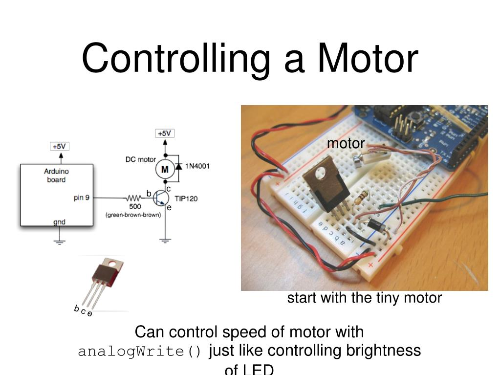 Controlling a Motor