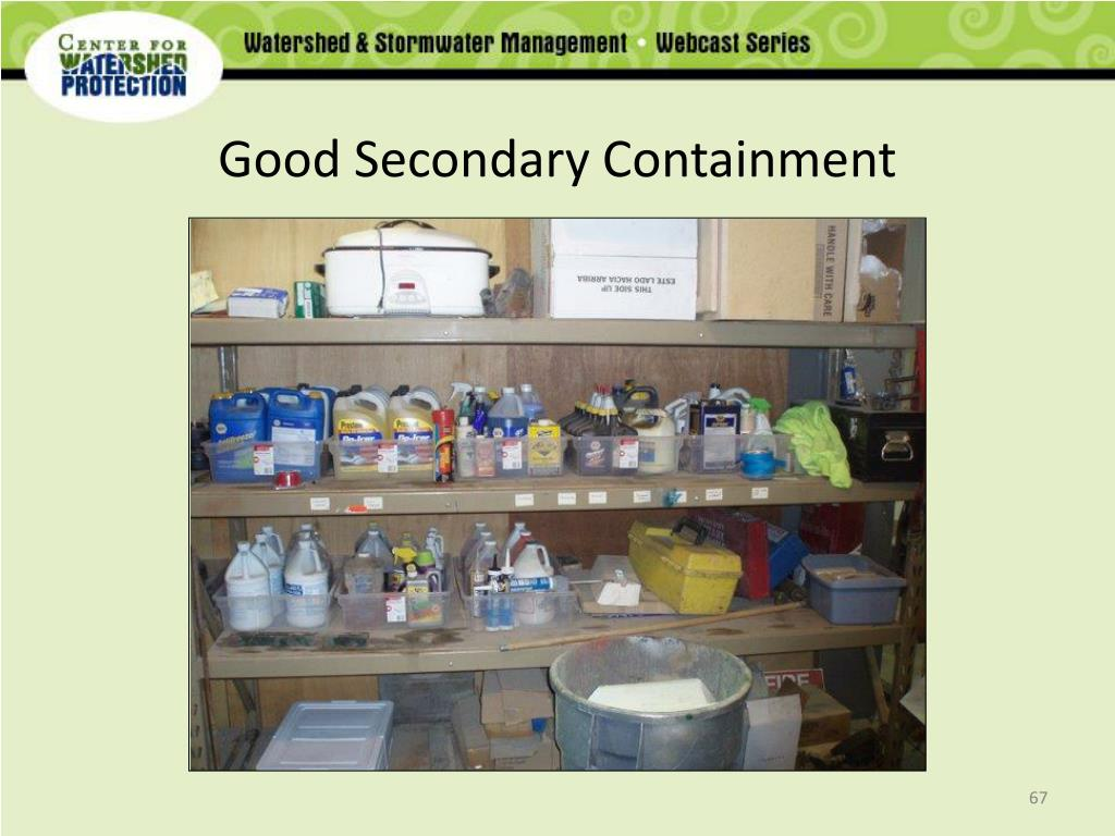 Good Secondary Containment