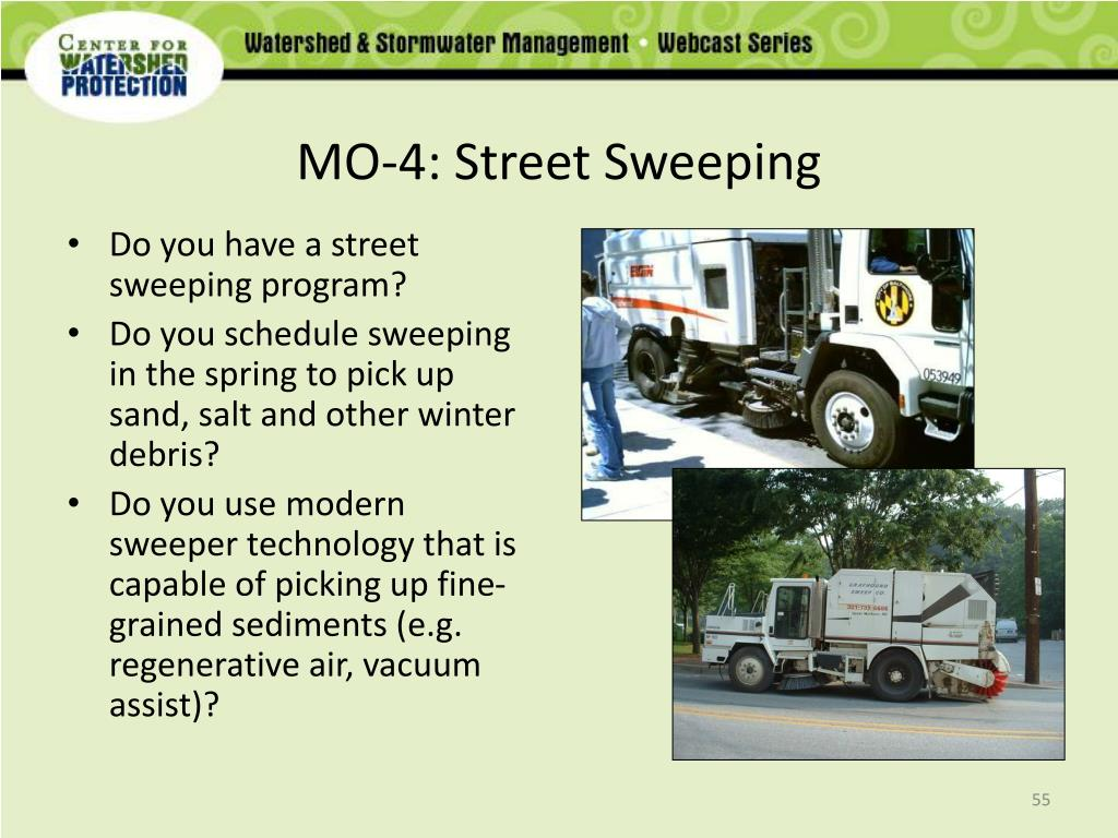 MO-4: Street Sweeping