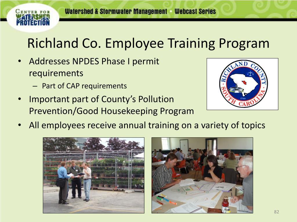 Richland Co. Employee Training Program