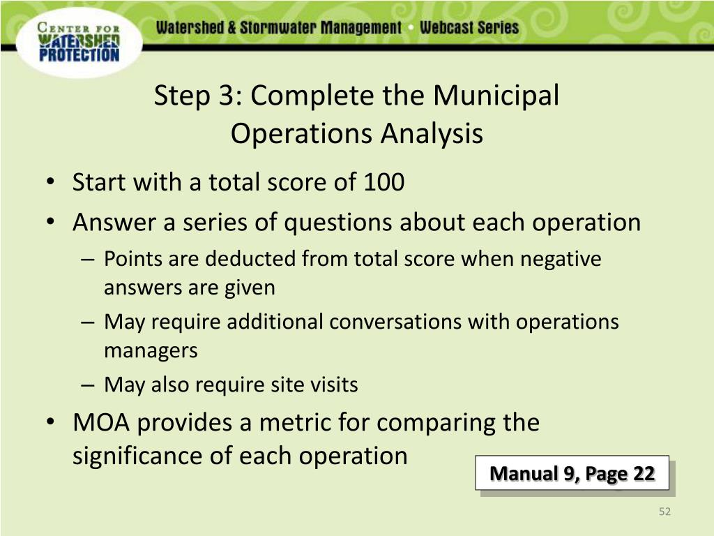 Step 3: Complete the Municipal