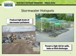 stormwater hotspots