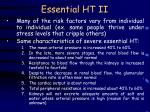 essential ht ii