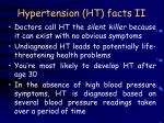 hypertension ht facts ii