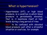 what is hypertension