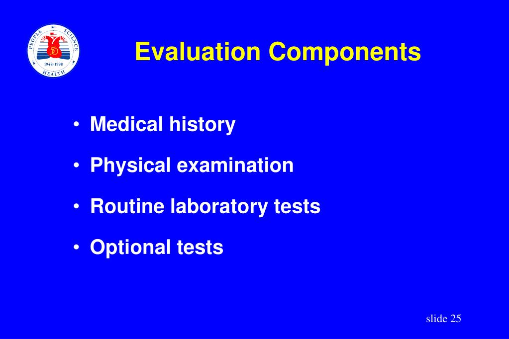 Evaluation Components