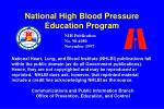 national high blood pressure education program2