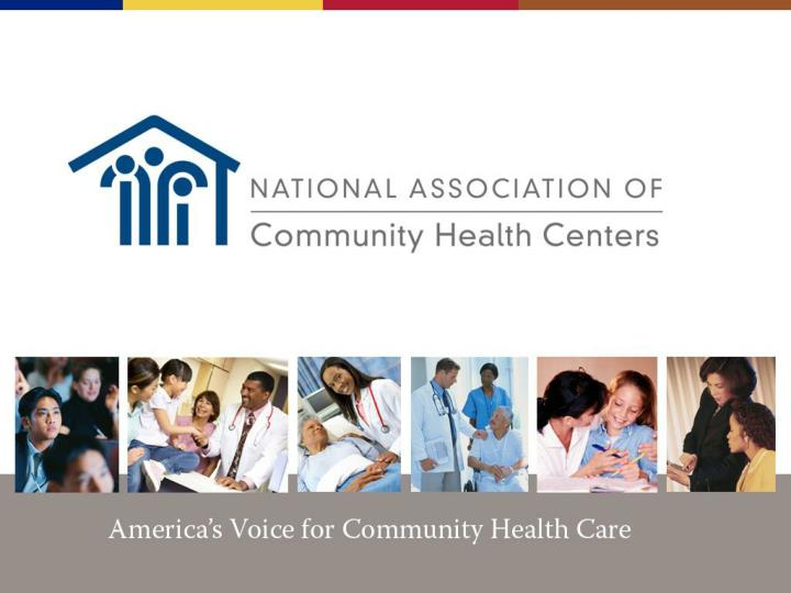 America s voice for community health care