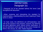 definitions paragraph b14