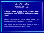 definitions paragraph b15