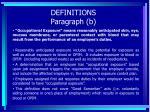 definitions paragraph b20
