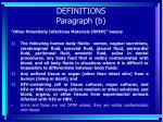 definitions paragraph b21